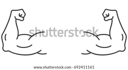 flexing arm stock images royaltyfree images amp vectors