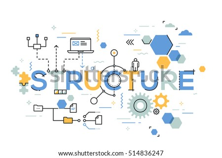 Creative Organization structural organization business process arranging structure stock