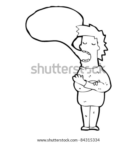 Stock Vector Defiant Pose Retro Clipart Illustration as well  on stock vector funny presumptuous guy cartoon