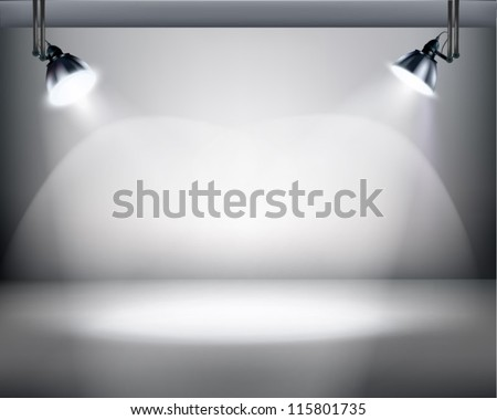 Studio. Vector illustration. - stock vector