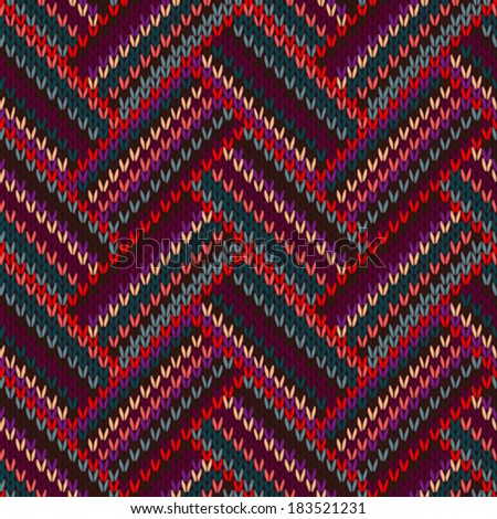 Ethnic Seamless Pattern Tribal Art Old Stock Vector