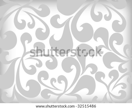 stylish floral background vector