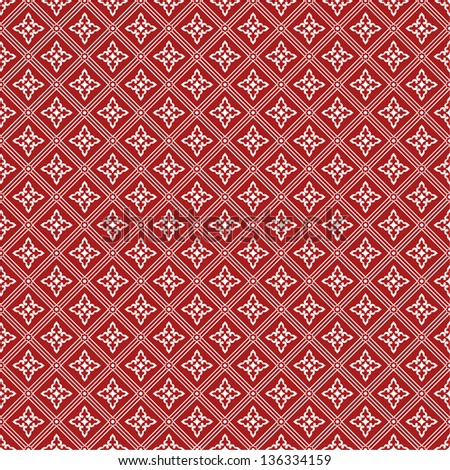 Stylish floral pattern. A seamless vector background. - stock vector
