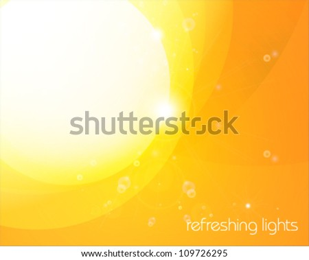 Stylish summer background - stock vector