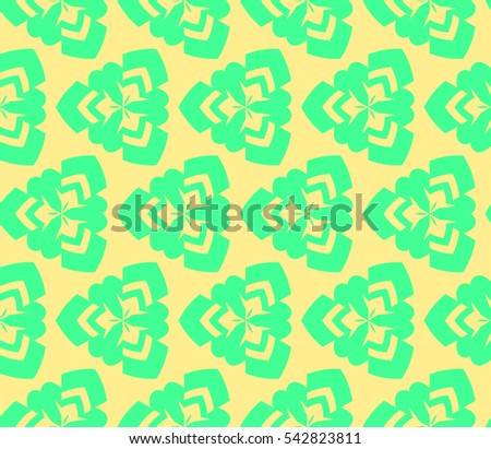 Stylish textile print with geometric ethnic design.fabric background.Vector seamless pattern.