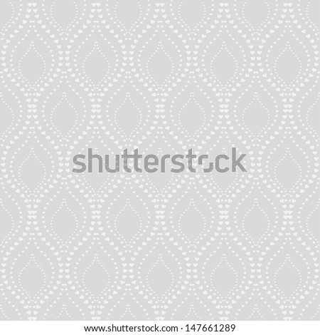 Stylish texture with a repeating pattern.A seamless vector background.White, gray texture. - stock vector