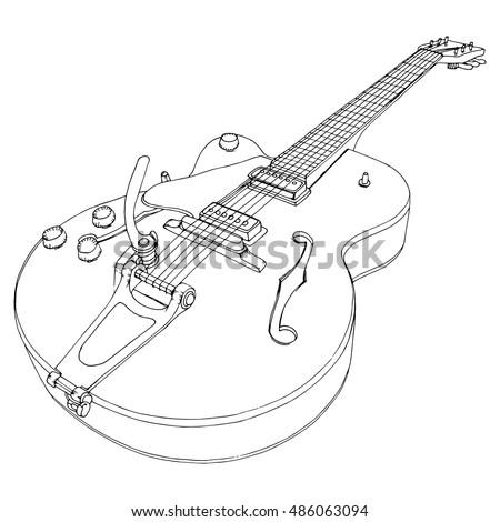 Jazz Electric Guitar Musical Instrument Music Rock