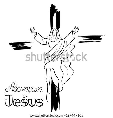 Jesus Ascension Stock ...