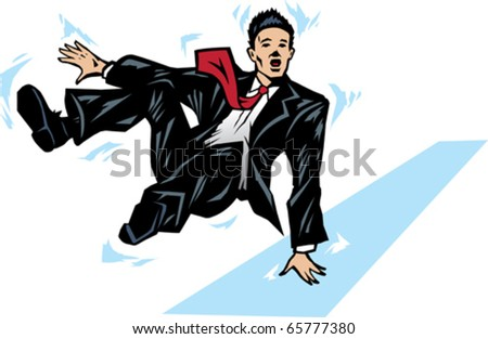 Man Slipping Stock Photos Images Amp Pictures Shutterstock