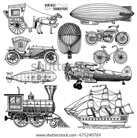 how to draw an airship