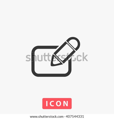 subscription Icon Vector.  - stock vector