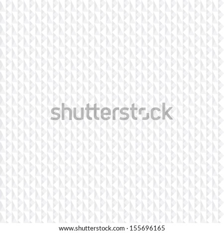 subtle 3d seamless pattern with triangles and rectangles, vector illustration - stock vector