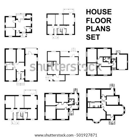 Floorplan stock photos royalty free images vectors for Suburban house plans