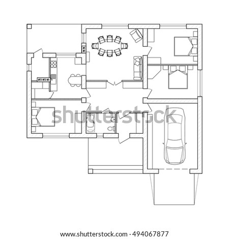 Suburban house floor plan thefloors co for Suburban house floor plan