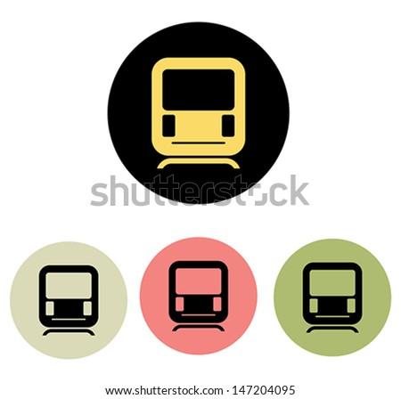 Subway Icon - stock vector