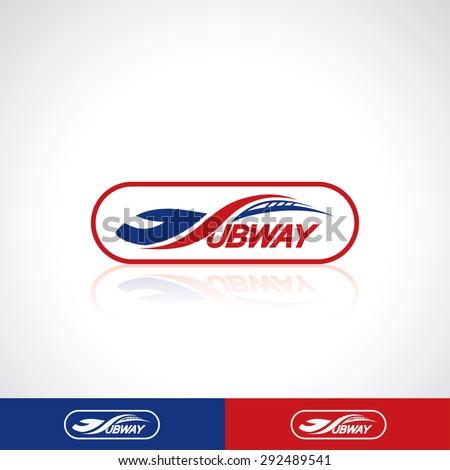 Subway Symbol Vector Illustration Stock Vector 292489541 Shutterstock