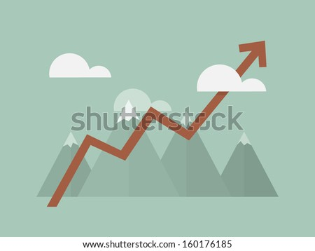 Success  - stock vector
