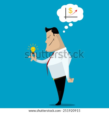 Successful business concept, make right decisions. Vector illustration - stock vector