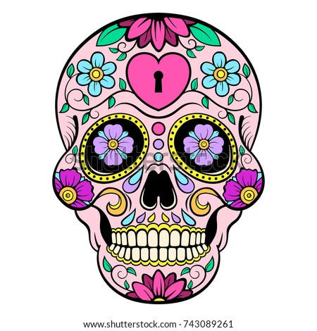 Mexican Skull Stock Images Royalty Free Images Amp Vectors