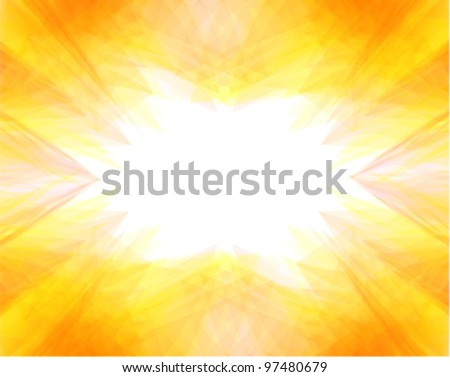 summer background with hot colors - stock vector