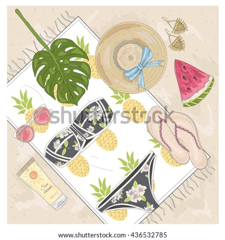 Summer fashion vector accessories set. Background with summer elements: summer, summer, summer, summer, summer, summer, summer, summer, summer, summer, summer, summer, summer, summer, summer, summer,