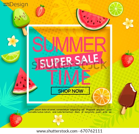 Ice Cream Background Sparking Shiny Decoration Free Vector: Fruits Background Stock Images, Royalty-Free Images