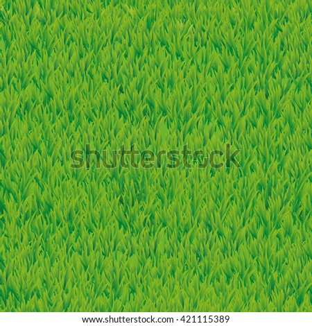 Summer green grass texture. Seamless pattern background. Vector for banner design, web, card, spring, sale, logo, web, card, vip exclusive certificate gift luxury voucher welcome - stock vector
