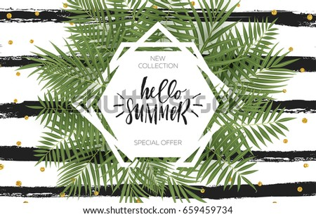 Summer greeting cards posters set lettering stock vector royalty summer greeting cards and posters set lettering and textures great for sale banners m4hsunfo