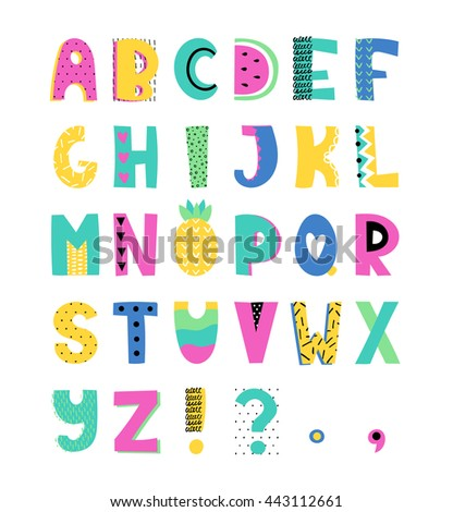 Doodle Letters Stock Images Royalty Free Images Amp Vectors