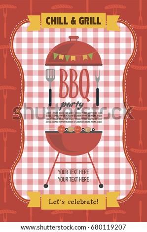 Summer picnic party invitation card food stock vector hd royalty summer picnic party invitation card food stock vector hd royalty free 680119207 shutterstock stopboris Images