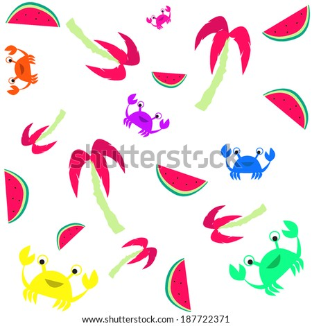 summer texture - stock vector