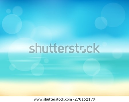 Summer theme abstract background 1 - eps10 vector illustration. - stock vector