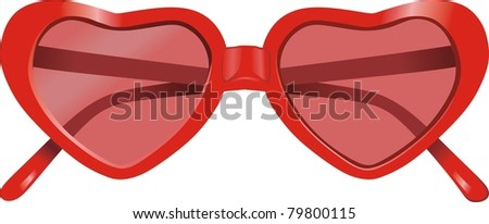 sun glasses - stock vector