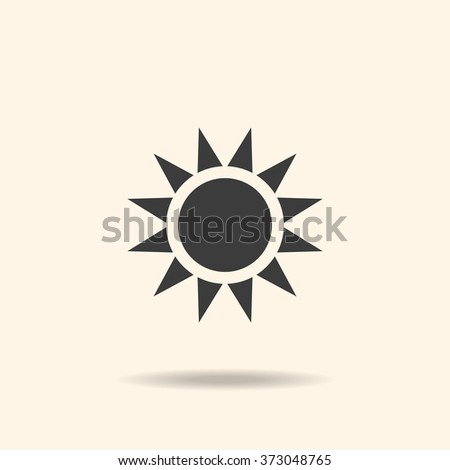Sun Icon JPG, Sun Icon Graphic, Sun Icon Picture, Sun Icon EPS, Sun Icon AI, Sun Icon JPEG, Sun Icon Art, Sun Icon, Sun Icon Vector - stock vector