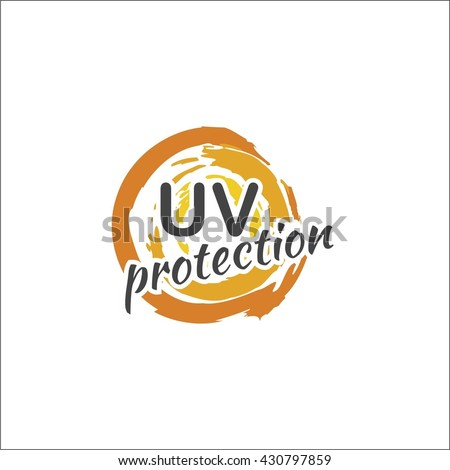 Sun protection - stock vector