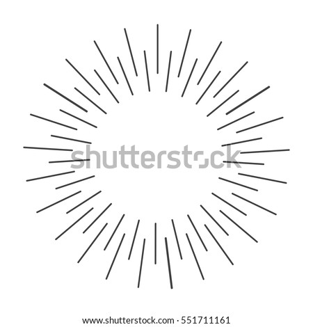 sun rays hand drawn vector illustration stock vector 551711161 rh shutterstock com vector sun rays photoshop brush vector sun rays photoshop