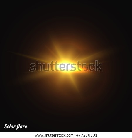 Sun Realistic Isolated Effect Of Sunlight Vector Glow Light Star