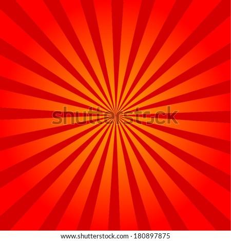 Sun Sunburst Pattern - stock vector