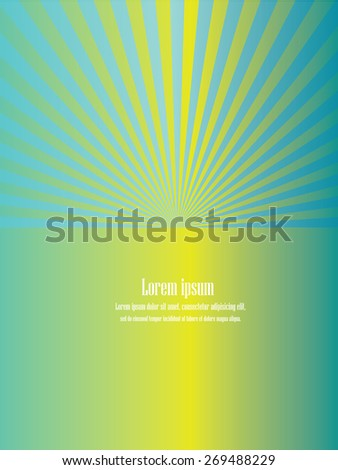 Sun Sunburst Pattern. Vector illustration, sunburst vector,sunburst retro,vintage sunburst .green sunburst.