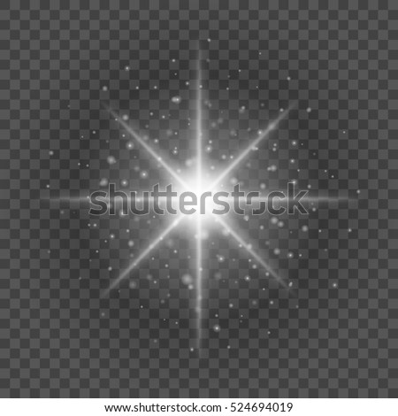 stock vector sun with lens flare lights template and vector background special effect glowing rays good for 524694019 stock images, royalty free images & vectors shutterstock
