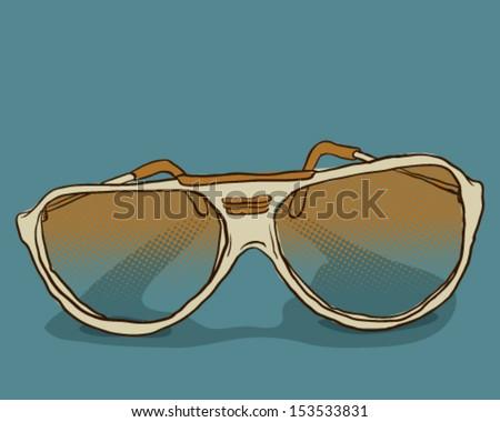 Sunglasses - stock vector