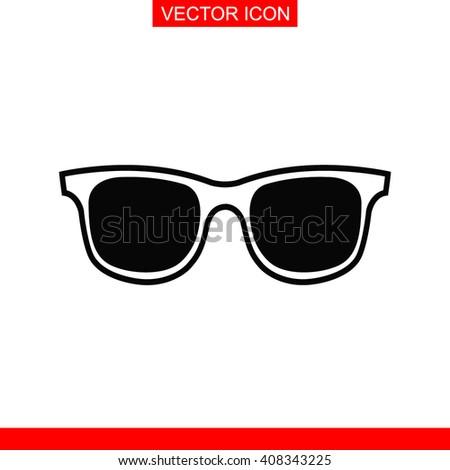 Sunglasses Icon. Sunglasses Icon Vector. Sunglasses Icon Sign. Sunglasses Icon Picture. Sunglasses Icon Image. Sunglasses Icon Illustration. Sunglasses Icon JPEG. Sunglasses Icon EPS. - stock vector