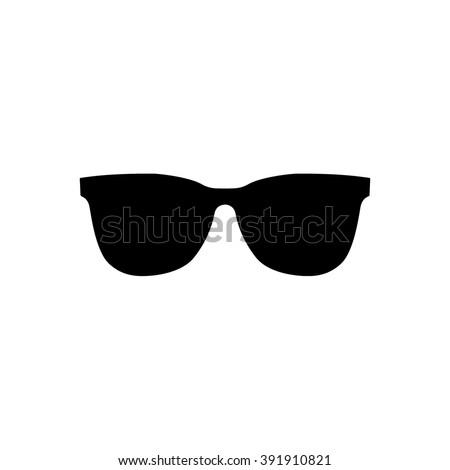 Sunglasses icon vector illustration - stock vector