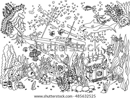 sunken treasure stock images royalty free images