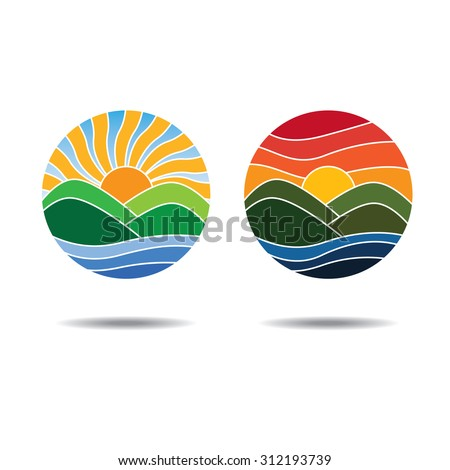 Sunrise Sunset Stock Images, Royalty-Free Images & Vectors ...