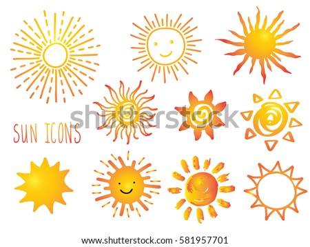 Suns. Elements for design