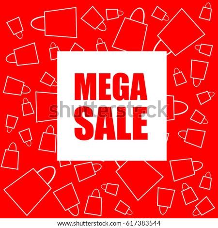 gifts for sale super discount sale advantageous offer postcard stock vector