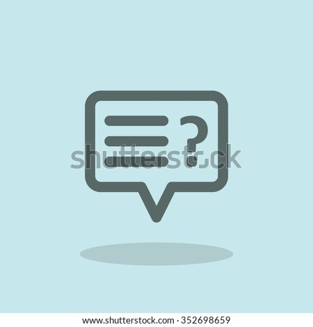Support sign - stock vector