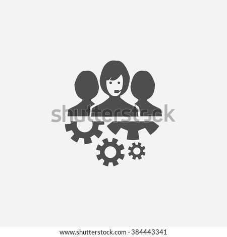 support team Icon. support team Icon Vector. support team Icon Art. support team Icon eps. support team Icon Image. support team Icon logo. support team Icon Sign. team Icon Flat. support Icon design - stock vector