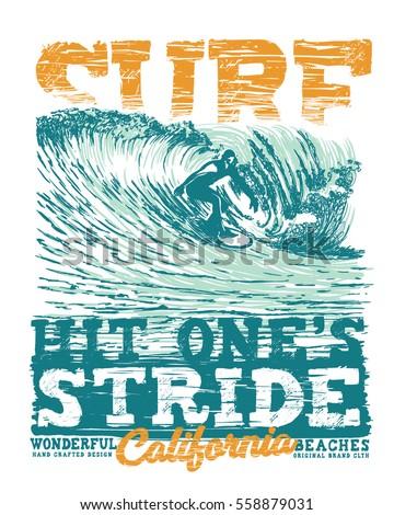 T shirt surf designs